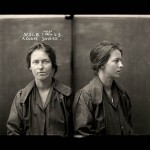 Alice Adeline Cooke, in her mugshot, after being convicted of bigamy and theft. Nice!